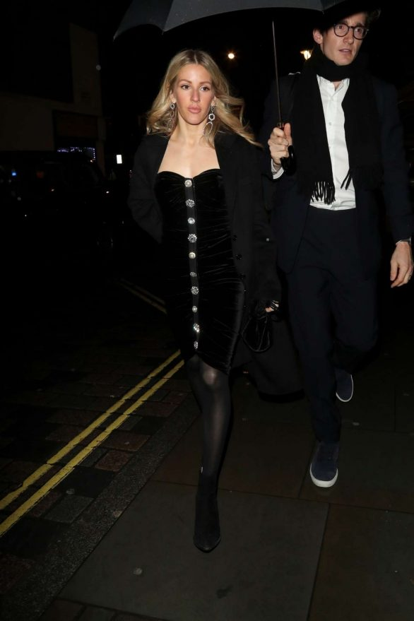 Ellie Goulding - Attends Edoardo Mapelli Mozzi and Princess Beatrice of York's Engagement Party
