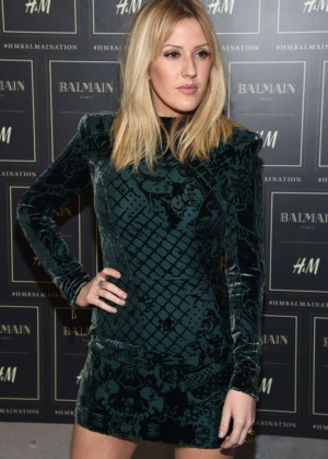 Ellie Goulding - Balmain x H&M Collection Launch in NYC