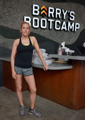 Ellie Goulding - Barry's Bootcamp in Miami Beach