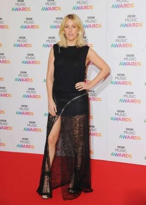 Ellie Goulding - BBC Music Awards 2015 in Birmingham