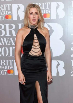 Ellie Goulding - BRIT Awards 2017 in London