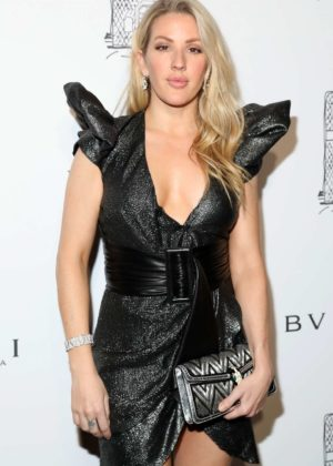 Ellie Goulding - Bulgari Flagship Store Opening Celebration in NY