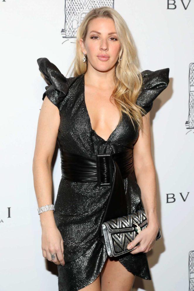 Ellie Goulding - Bulgari Flagship Store Opening Celebration in NY