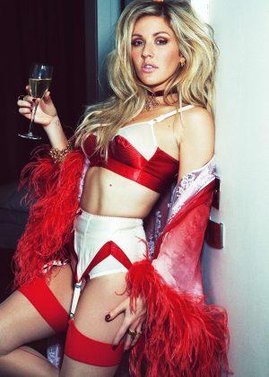 Ellie Goulding - Christmas Photoshoot (December 2016)