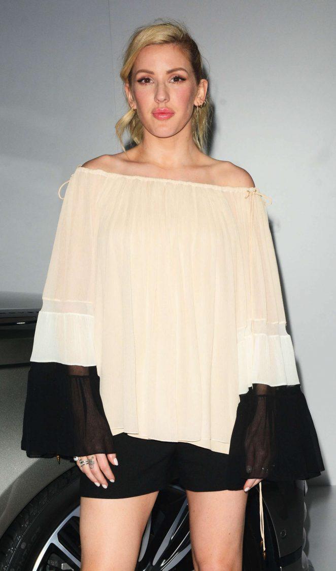 Ellie Goulding - Debut of The Range Rover Velar in NYC