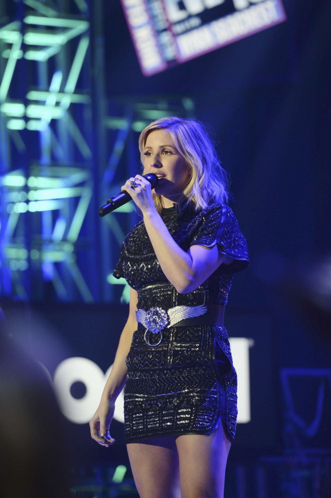 Ellie Goulding - Dick Clark's New Year's Rockin' Eve 2016 in LA