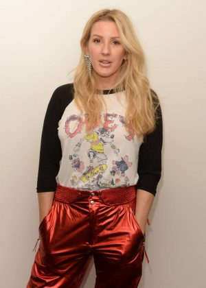 Ellie Goulding - During Hits Live at radio station Hits 97.3 in Hollywood