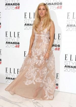 Ellie Goulding - Elle Style Awards 2015 in London