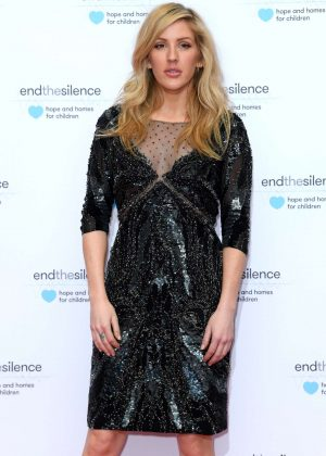 Ellie Goulding - End the Silence Charity Fundraiser in London