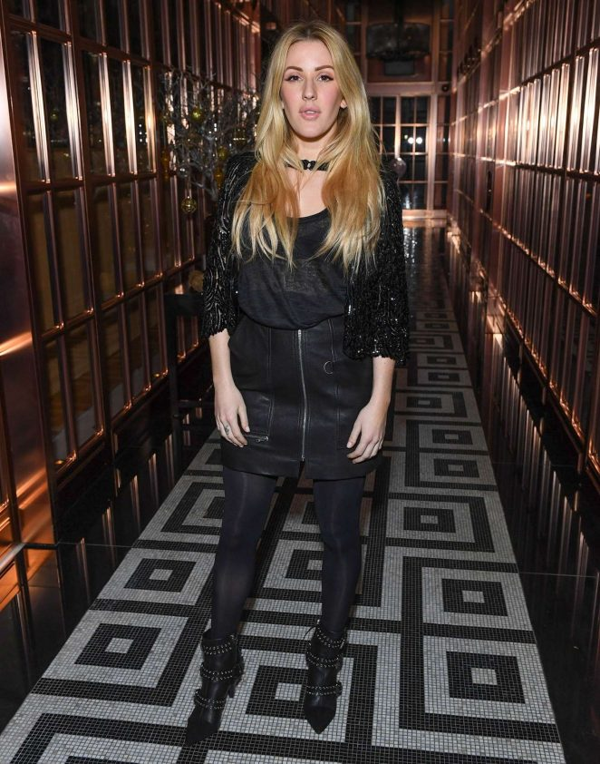 Ellie Goulding - Festive Season Celebration Rosewood in London
