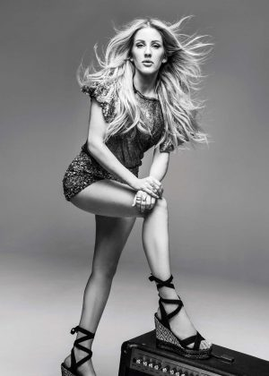 Ellie Goulding for Deichmann Shoes Campaign 2017