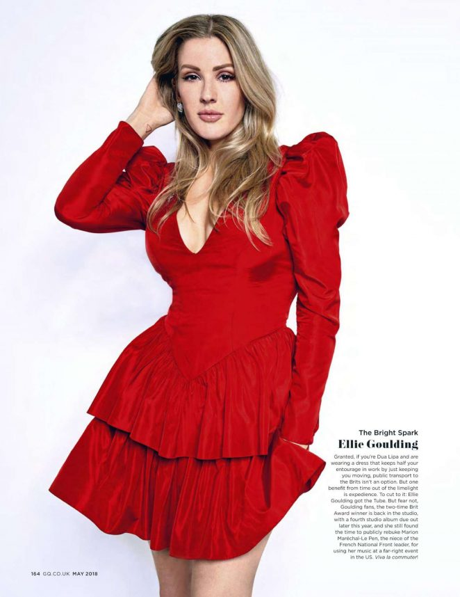 Ellie Goulding for GQ UK Magazine (May 2018)