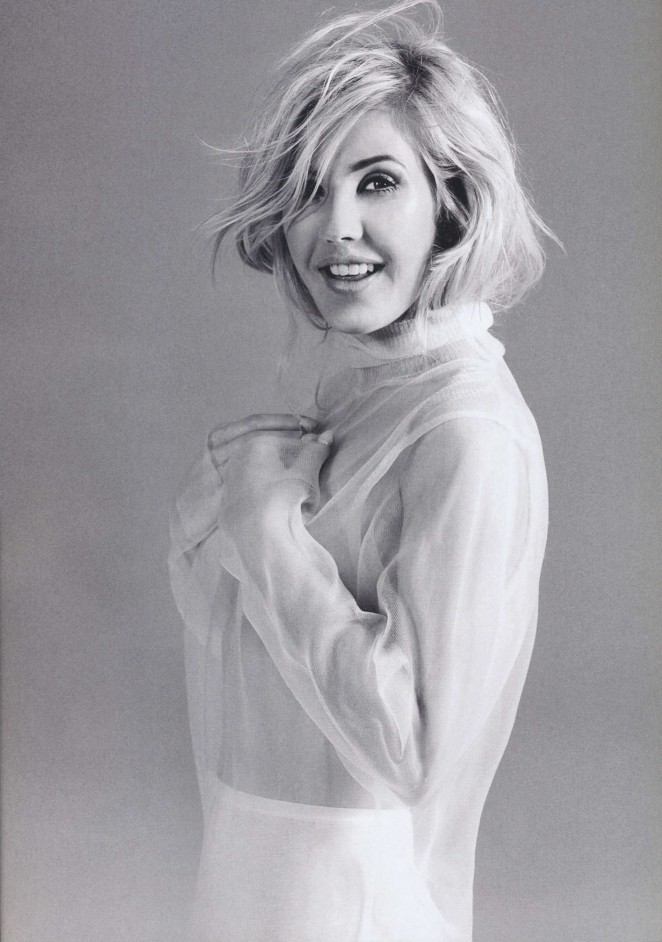 Ellie Goulding - Harper's Bazaar UK Magazine (December 2015)