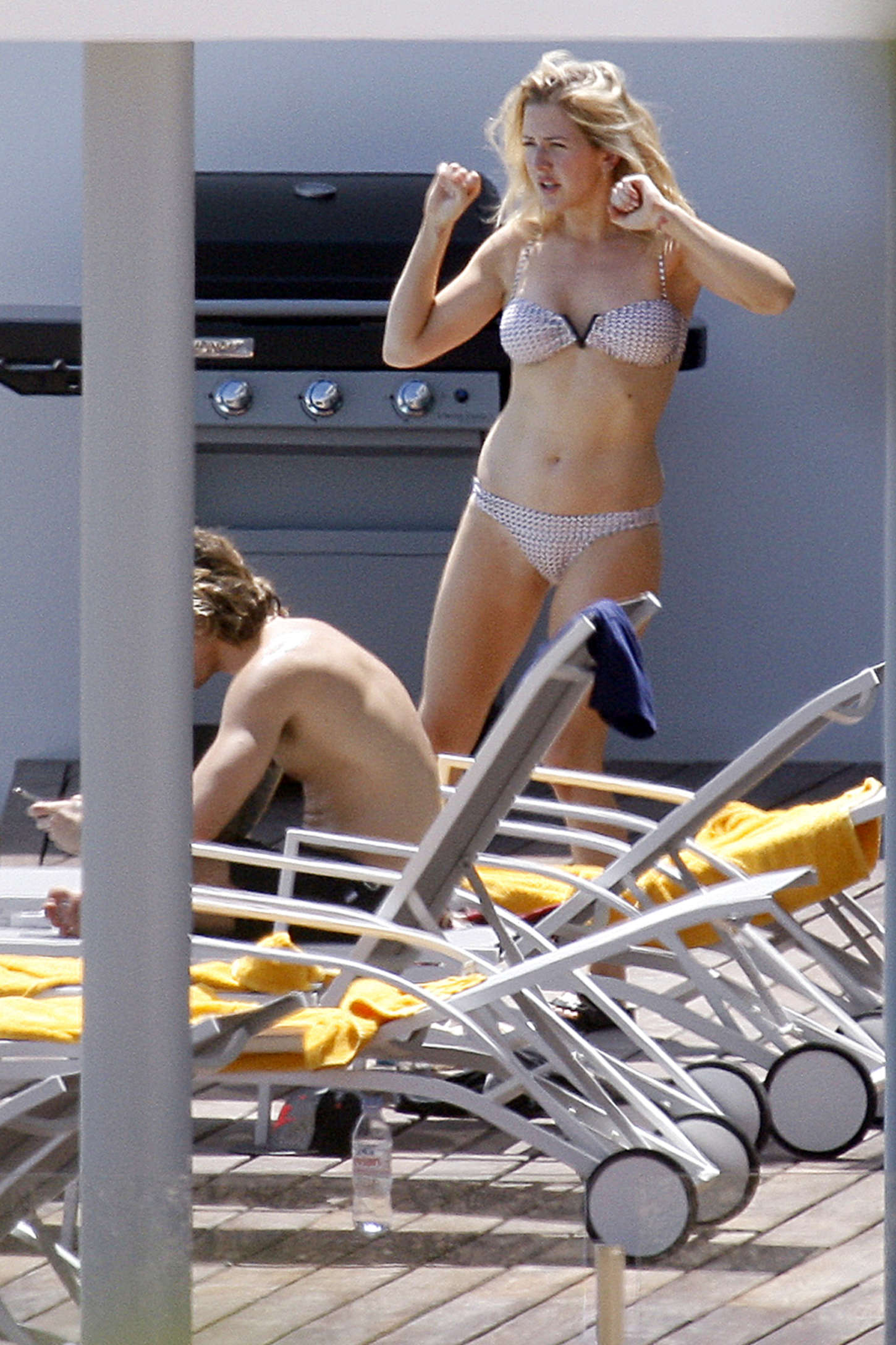 ellie goulding in bikini at pool in ibiza