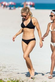 Ellie Goulding - In Bikini on the beach in Miami