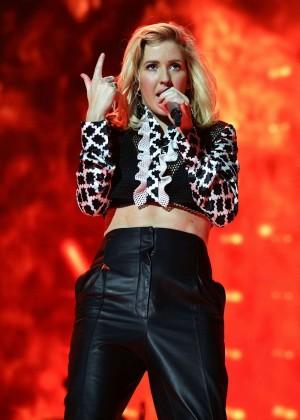 Ellie Goulding - Jingle Bell Ball 2015 Day 2 in London