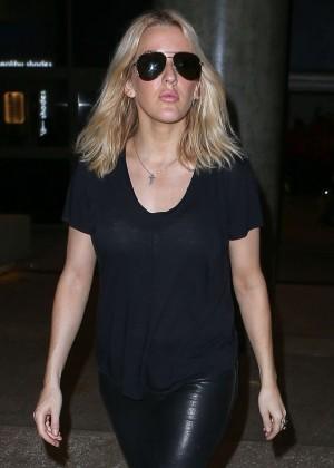 Ellie Goulding - LAX airport in LA