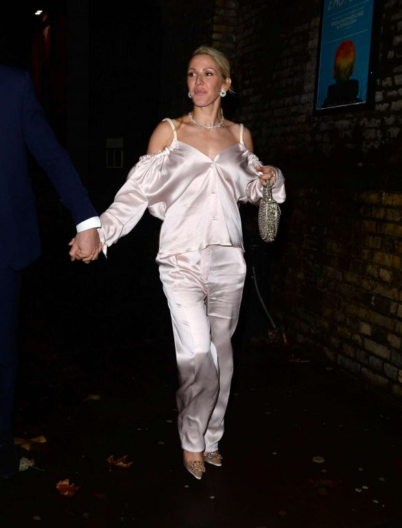 Ellie Goulding - Leaving Centrepoint 50th Anniversary Gala in London