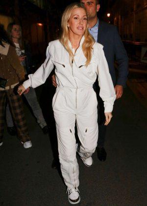 Ellie Goulding - Leaving Fun Radio in Paris