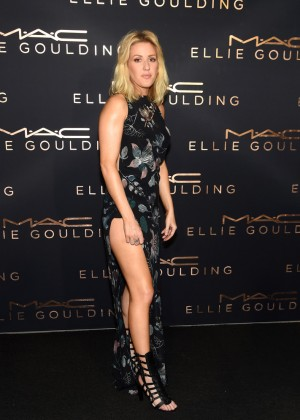 Ellie Goulding - M.A.C Cosmetics Art Basel Event in Miami