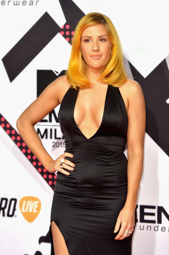 Ellie Goulding - MTV European Music Awards 2015 in Milan