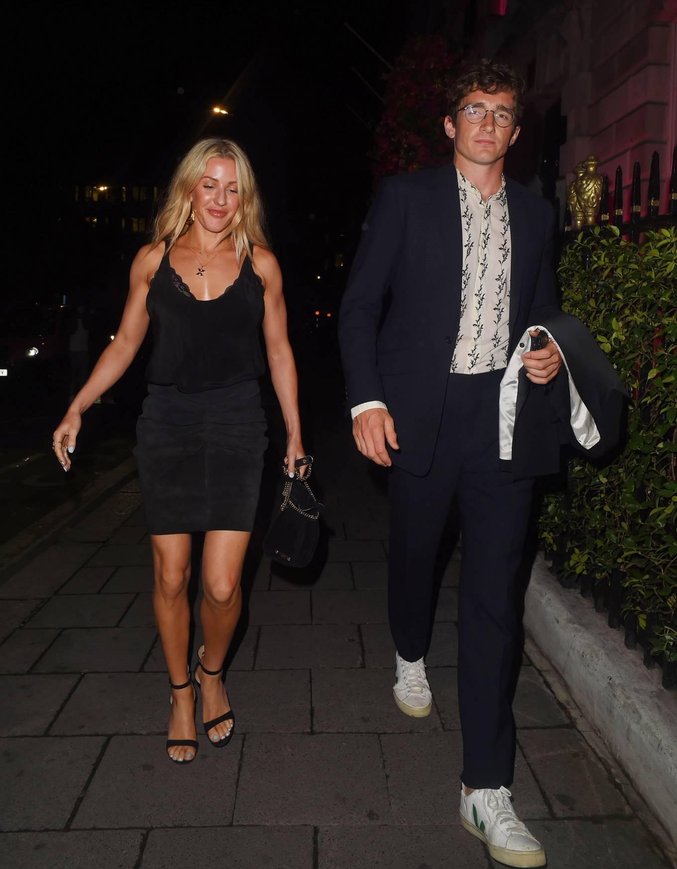 Ellie Goulding - Nightout outside Annabel's in London - 1 ...