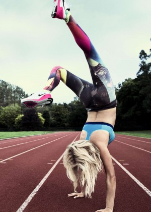 Ellie Goulding - Nike Melody Of Movement Photoshoot 2015