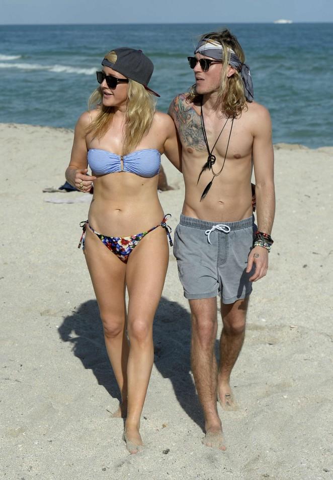 nipple bikini slip dylan Madison