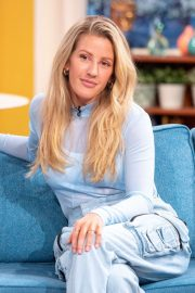 Ellie Goulding - On This Morning TV Show in London