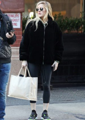 Ellie Goulding - Out and about in NYC