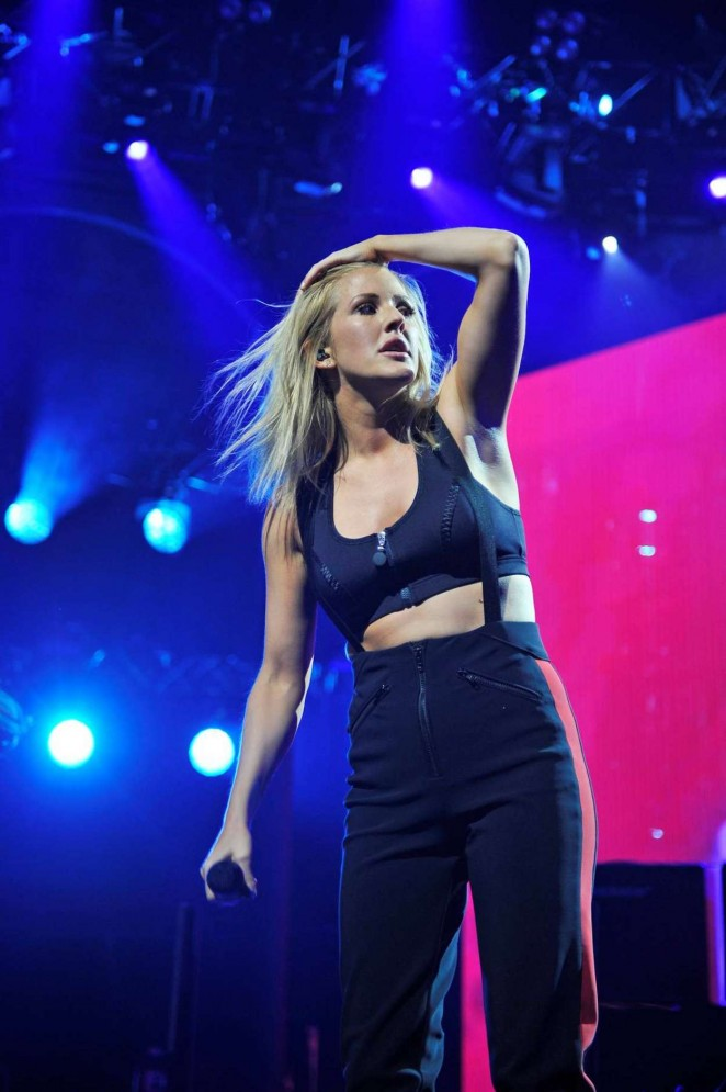 Ellie Goulding - Performs at Apple Music Festival in London