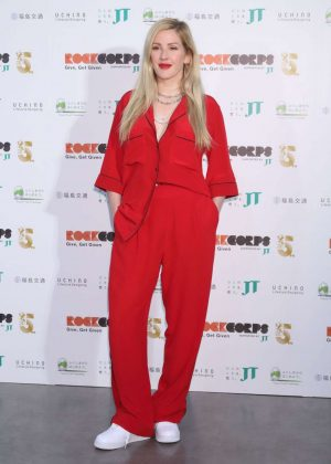 Ellie Goulding - Rockcorps Photocall In Chiba