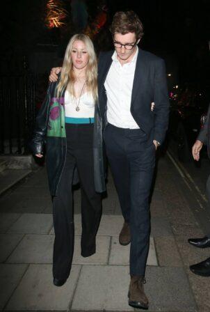 Ellie Goulding - Seen leaving Annabels oin Mayfair