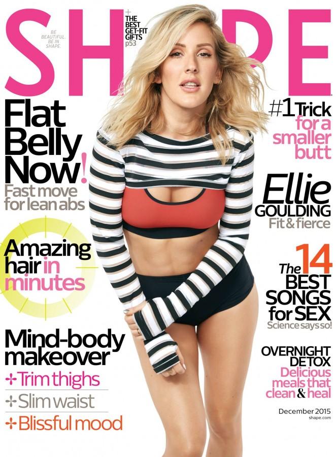 Ellie Goulding: Shape Magazine 2015 -03