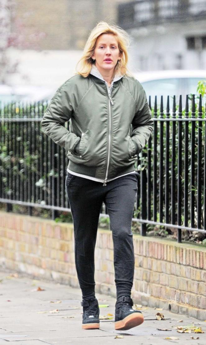 Ellie Goulding - Shopping in London
