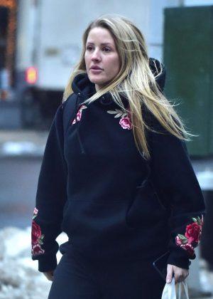 Ellie Goulding - Shopping in New York City