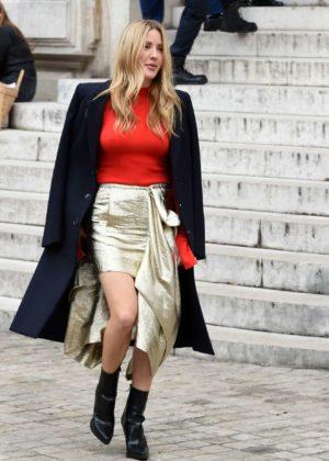 Ellie Goulding - Stella McCartney show in Paris