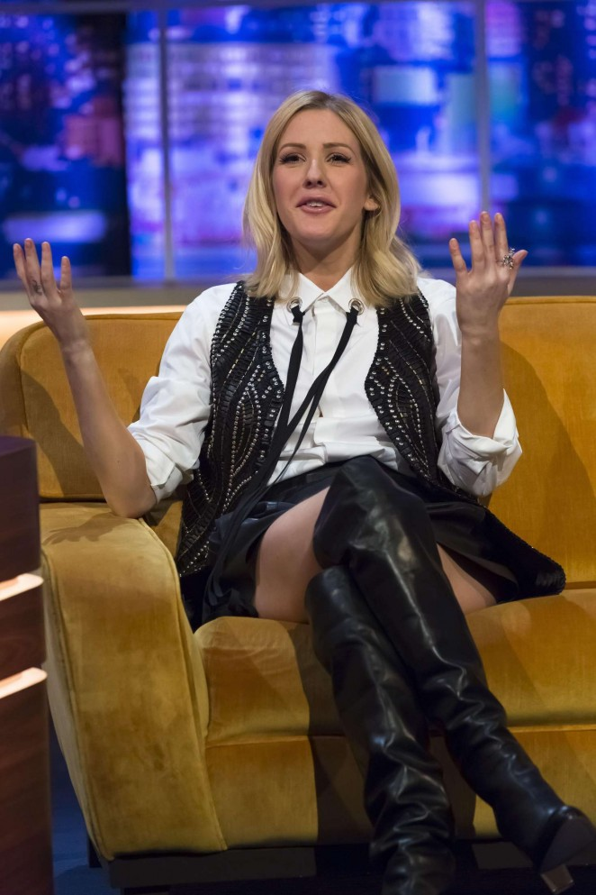 Ellie Goulding - 'The Jonathan Ross Show' in London