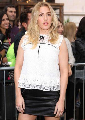 Ellie Goulding - Topshop Unique Fashion Show 2016 in London