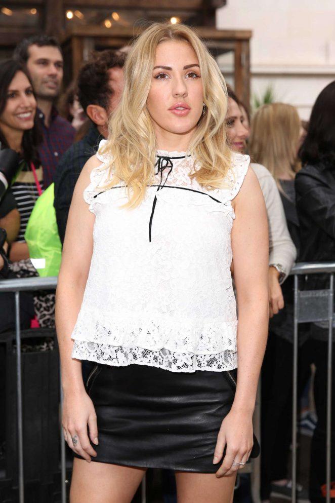 Ellie Goulding – Topshop Unique Fashion Show 2016 in London