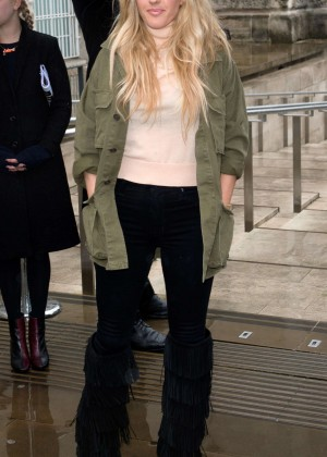 Ellie Goulding Topshop Unique Fashion Show 2015 In London