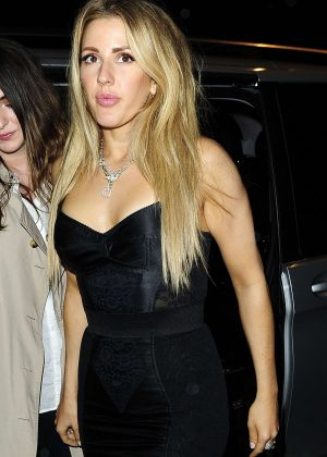Ellie Goulding - Universal Music Brit Awards After Party in London