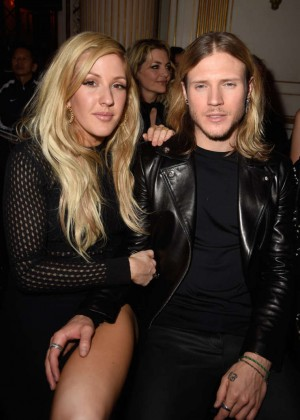 Ellie Goulding - Versace Fashion Show 2015 in Paris