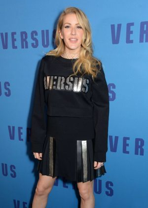 Ellie Goulding - Versus Versace Show at 2017 LFW in London