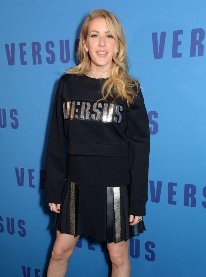 Ellie Goulding - Versus Versace Show at 2017 LFW in London