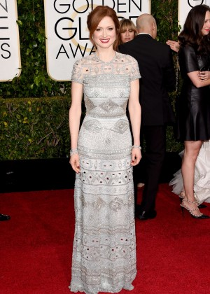 Ellie Kemper- 2015 Golden Globe Awards in Beverly Hills