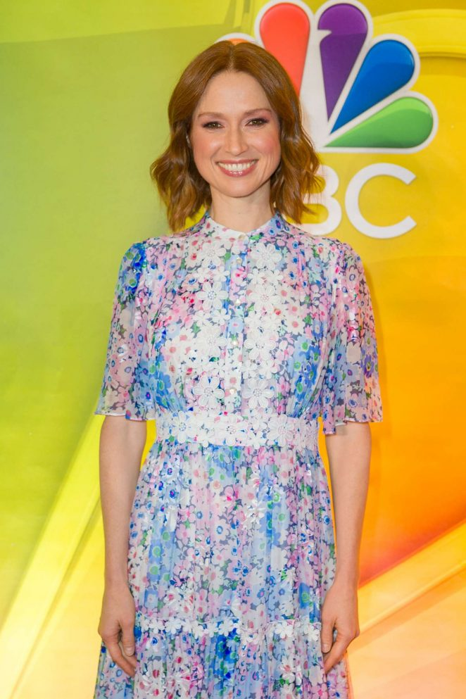 Ellie Kemper – NBC Fall Junket 2018 in NYC