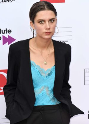 Ellie Rowsell - Q Awards 2017 in London