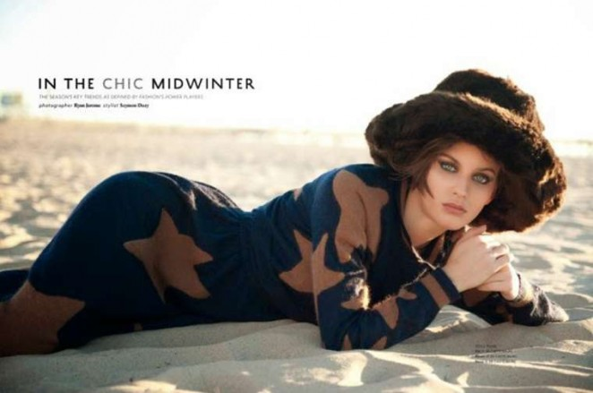 Ellinore Erichsen - Phoenix Magazine (January 2015)