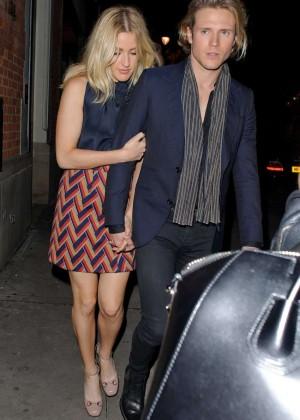 Elllie Goulding - Leaving Hospital Club in London